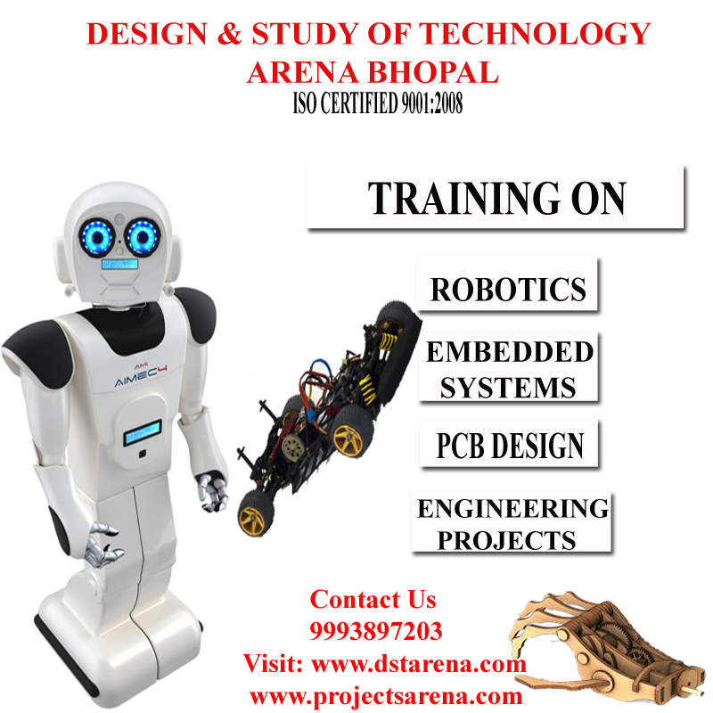 Embedded Systems Robotics Training With Project For Final Year Be